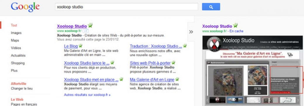 Google n'aime pas Flash