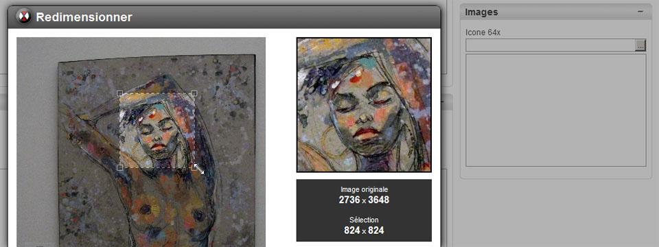 Redimensionnez vos images directement en ligne